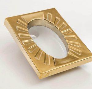 سنگ توالت ایرانی طلایی